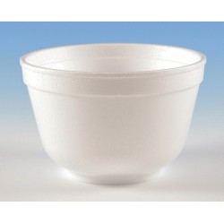 Wincup - B10 - 10 oz. Disposable Polystyrene Bowl, White; PK1000