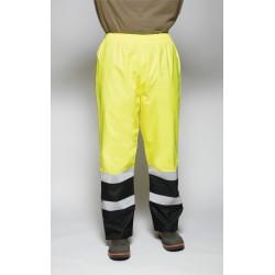 Utility Pro Wear - UHV452P-L-32 - Hi-Vis Rain Pants, Black/Hi-Vis Ylw, L