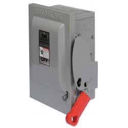 Siemens - HNF362 - Safety Switch, 1 NEMA Enclosure Type, 60 Amps AC, 60 HP @ 600VAC HP