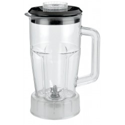 Waring - CAC21 - 6 1/4 x 9 1/2 x 6 1/4 Polycarbonate, Vinyl Blender Container with Lid and Blade