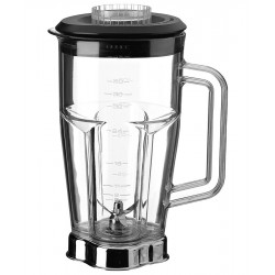 Waring - CAC19 - 6 1/4 x 9 1/2 x 6 1/4 Polycarbonate Blender Container with Lid and Blade