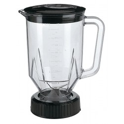 Waring - CAC29 - 6 1/4 x 9 1/2 x 6 1/4 Polycarbonate Blender Container with Lid and Blade
