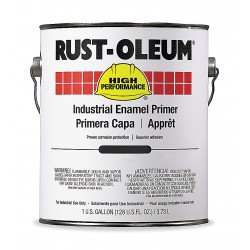 Rust-Oleum - 1060402 - Interior/Exterior Primer with 310 to 520 sq. ft./gal. Coverage Gray, 1 gal.