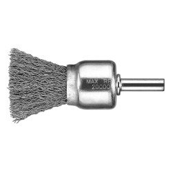 "Dewalt - DW4901 - 1-5/8"" Crimped Wire End Brush with Carbon Steel Fill Material and 0.014"" Wire Dia."