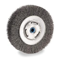 """Dewalt - DW4906 - 8"""" Crimped Bench Wire Wheel 5/8"""" Arbor"""