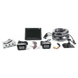 RVS Systems - RVS-082508 - Rear View Camera System, (2) Camera Setup