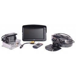 RVS Systems - RVS-082502 - Rear Camera System, Sun Shade Monitor