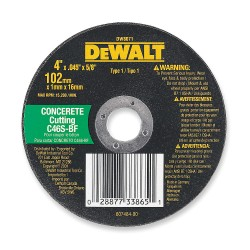 "Dewalt - DW8027 - 12"" Cut-Off Wheel, 0.125"" Thickness, 20mm Arbor Hole"