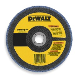 "Dewalt - DW8321 - 7""x7/8"" 36 Grit Zirconiaflap Disc Wheel"