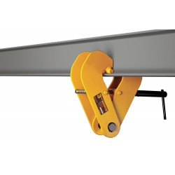 Harrington Hoists - UBC100 - Beam Clamp, Manual, 20, 000 lb.