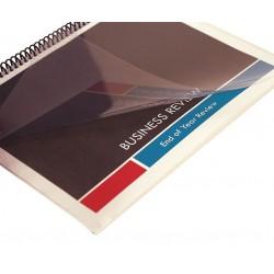 Sircle - 378323 - Binding Covers, Plastic, Clear, PK100