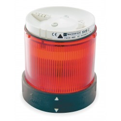 Telemecanique / Schneider Electric - XVBC4B4 - 48VAC/DC Incandescent Tower Light Module Flashing with 70mm Dia., Red