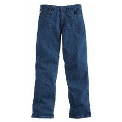Carhartt - FRB100 DNM 42 32 - Blue Pants, Cotton, Fits Waist Size: 42, 32 Inseam, 12.1 cal./cm2 ATPV Rating