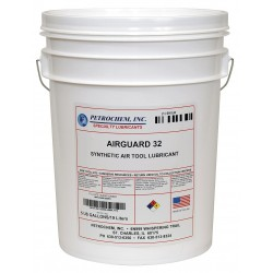 Petrochem - AIRGUARD 32-005 - Air Tool Oil, 5 gal. Container Size