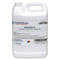 Petrochem - AIRGUARD 32-001 - Air Tool Oil, 1 gal. Container Size