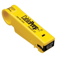 CablePrep - CPT-6590S - Cable Prep CPT-6590S 6 & 59 Cable Stripper w/ Stop (Extra Cartridge)