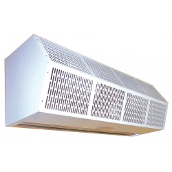 Berner - CHC10-1048EZ-100-3X-G - Air Curtain, 4 ft. Max. Door Width, 10 ft. Max. Mount Ht., 67 dBA @ 10 Feet, 3500 fpm