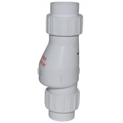 Zoeller - 30-0042 - 2 Full Flow Check Valve, PVC, Solvent Weld Connection Type