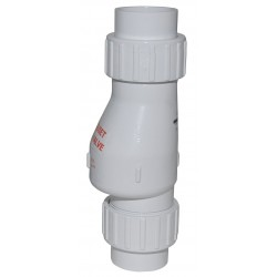 Zoeller - 30-0044 - 3 Full Flow Check Valve, PVC, Solvent Weld Connection Type