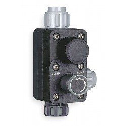 Pulsafeeder - L385KH03-PVD - Pulsafeeder L385KH03-PVD Valve; degassing, compression fitting. PVDF, max 250 psi, tubing connectors