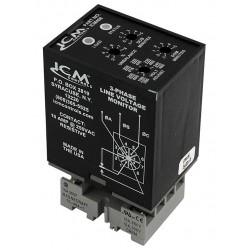 ICM - ICM408 - Plug-In Line Voltage Monitor, 3 Phase