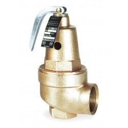 Apollo Valves - 1060734 - Bronze Safety Relief Valve, FNPT Inlet Type, FNPT Outlet Type