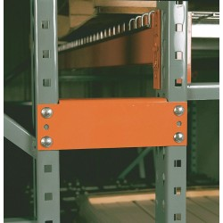 Interlake / Mecalux Naperville - IA501S00600R000000 - Orange Steel Row Spacer