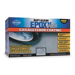 Rust-Oleum - 251966C - Semi Gloss Epoxy Garage Floor Kit, Tan, 120 fl. oz.