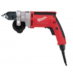 Milwaukee Electric Tool - 020220 - Milwaukee 3/8 Magnum Drill, 0-1200 RPM with All Metal Chuck and QUIK-LOK Cord - Driver Drill - 3.25, 1.50, 1 Wood, Wood, Wood - 0.38 Chuck