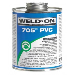 IPS Corporation - 13972 - Pipe Cement, Clear, 16 oz., for PVC Pipe