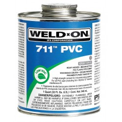 IPS Corporation - 13976 - Pipe Cement, Gray, 8 oz., for PVC Pipe