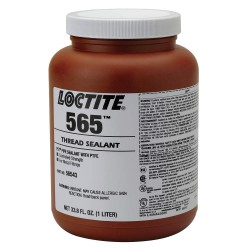 Loctite - 56543 - 1L Bottle Pipe Thread Sealant with 10, 000 psi, White