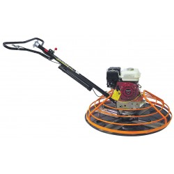 Kushlan Products - KPT48 - 48 Power Concrete Trowel, Honda GX240, Steel, Adjustable Pitch, Blade Length 18, Blade Width 6