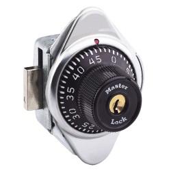 Master Lock - 1630 - Built In Locker Lock, Key Control: Mfr. No. K1630, Black for Standard Lift Handle Lockers