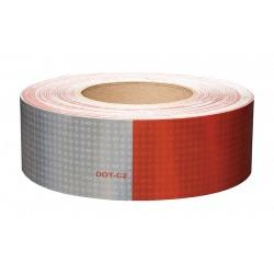 Orafol - 18690 - Reflective Tape, W 2 In, Red/White