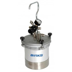 Binks - 80-600 - Aluminum Pressure Cup, Clamp Type Lid