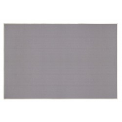 United Visual - UV646AEZ-GREY-SATIN - Push-Pin Bulletin Board, Self-Adhesive Fabric, 48H x 72W, Gray