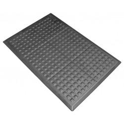 Wearwell / Tennessee Mat - 502 - Mat Ramp, Urethane, Black, 1 EA