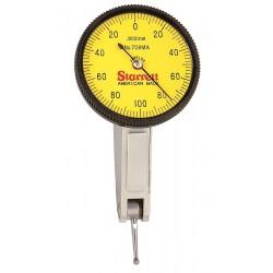L.S. Starrett - 708MACZ - Dial Test Indicator, Hori, 0 to 0.2mm