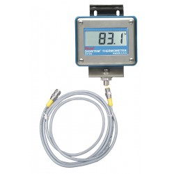 Palmer Wahl - D1396-5N - Digital Process Thermometer, RTD Sensor Type, -328 to 1472 Temp. Range (F)