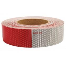 Orafol - 18811 - Reflective Tape, W 2 In, Red/White