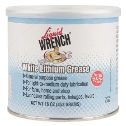 Radiator Specialty - L666 - Liquid Wrench White Lithium Grease 16oz