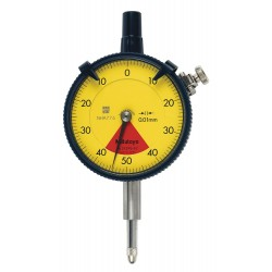 Mitutoyo - 2929SB-62 - Balanced Reading Dial Indicator, AGD 2, 2.240 Dial Size, 0 to 0.8mm Range
