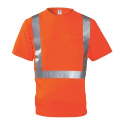 Tingley Rubber - S75029 - Hi-Vis T-Shirt, Short Sleeve, Orange, M