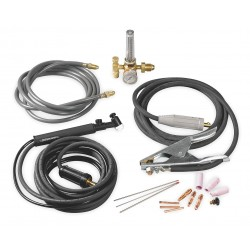 Thermal Arc - 10-4080 - Thermal Arc TIG Torch Kit For ArcMaster 300/400 MSTP Inverter Arc Welder And Pro-Plus 400 (Includes TIG Torch With Valve, Accessories, Regulator And Work Lead), ( Each )