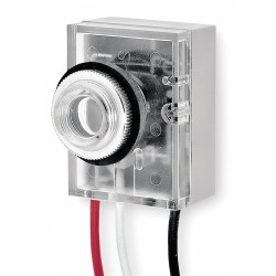 Intermatic - K4021C - Photocontrol, 120VAC Voltage, 1800 Max. Wattage, Fixed Mounting