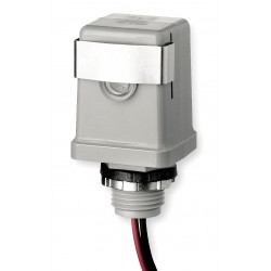 Intermatic - K4121C - Photocontrol, 120VAC Voltage, 1800 Max. Wattage, 1/2 Male Pipe Thread Mounting