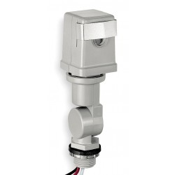 Intermatic - K4221C - Photocontrol, 120VAC Voltage, 1800 Max. Wattage, 1/2 Male Pipe Thread Mounting
