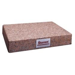 L.S. Starrett - 80634 - Granite Surface Plate, Pink, B, 18x24x4