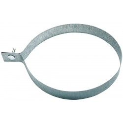 Ductmate Industries - GRRDH04GA20 - Round Duct Hanger, Steel